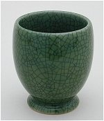 Crackle Green Tea Mug